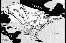 Image result for In a TV address on October 22, 1962, President John Kennedy (1917-63) notified Americans about the presence of the missiles