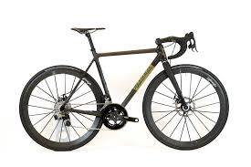 custom carbon fiber appleman disc road bike