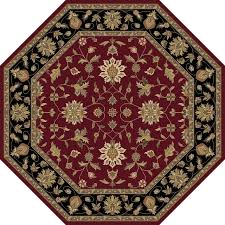 surya crowne crn6013 pink black classic area rug traditional area rugs by rugmethod