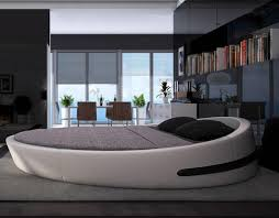 round bed furniture. MYBESTFURN Italy Design Luxury Large Size Round Bed,Top Grain Leather Soft  Bed, Villa Bed Furniture U