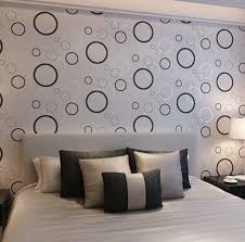 decorating a bedroom wall. Wall Design For Paint Ambershop Co Decorating A Bedroom