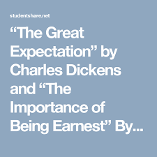 essay on great expectations