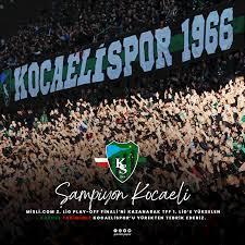 """Fraport TAV Antalyaspor on Twitter: """"🏆 ŞAMPİYON KOCAELİ!  https://t.co/97ENMo2rbC 2. Ligi Play-Off Finali'ni kazanarak TFF 1. Lig'e  yükselen kardeş takımımız Kocaelispor'u yürekten tebrik ederiz. @Kocaelispor  #FraportTAVAntalyaspor… https://t.co ..."""
