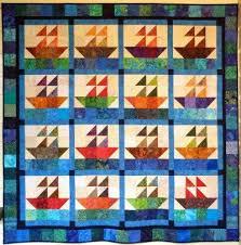 Big Block Big Quilt - Sailing using 5 Inch Squares   Quilt ... & Big Block Big Quilt - Sailing using 5 Inch Squares Adamdwight.com