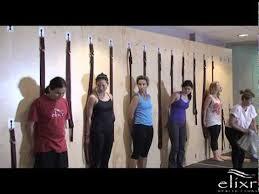 Elixr <b>Yoga Wall</b> Class - YouTube