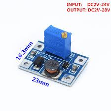 <b>5pcs</b> 2 24V to 2 28V <b>2A DC DC SX1308</b> Step UP Adjustable Power ...