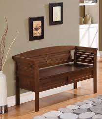 Image of: Amazing Entryway Bench