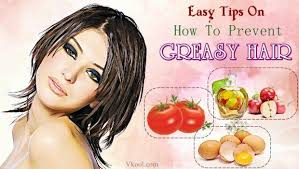 prevent greasy hair naturally
