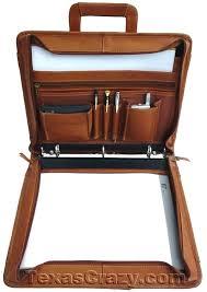 soft binders custom leather portfolio binder briefcase embossed prosoft