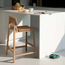 nice footrest together with light brown wooden kitchen bar stool in wooden legs added by wooden