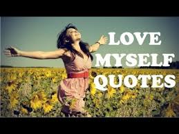 Loving Myself Quotes Adorable Love Myself Quote Inspirational Quotes About Loving Yourself YouTube