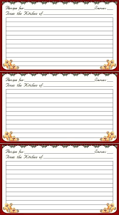 Recipe Card Templates Free Refreshing Printable Recipe Cards For Free Christmas Card
