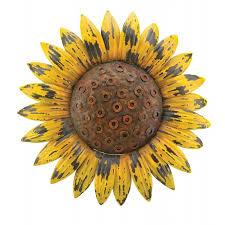 rustic sunflower wall decor sunflower