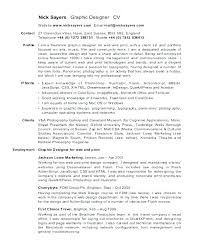 Resume Objective For Graphic Designer Freelance Designer Resume Objective Photographer Template Free 89