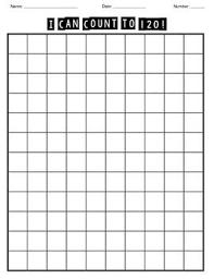 Number Chart 1 120 Blank Blank 1 120 Chart 120 Chart Number Chart 1st Grade Math