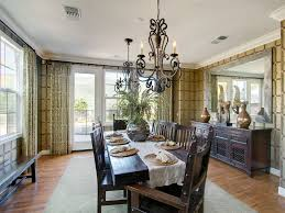 magnificent mirrored buffet in dining room contemporary with chandelier ideas next to table