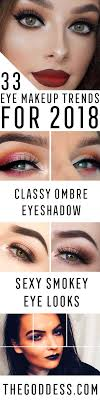 hottest eye makeup trends for 2018 it s time to check out what eyeliner and make
