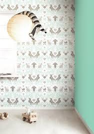 Olijfgroen Behang Inspirerende Behang Babykamer Mintgroen Fotos