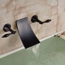dual handle bath tub sink faucet oil