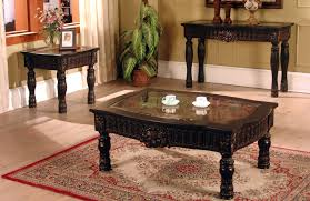 Coffee Table Fabulous Wood Coffee Table Set Occasional Table Set