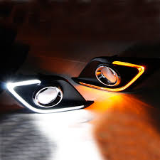 Lights Dimming In Car Us 72 7 21 Off Turn Signal Light And Dimming Style Relay 12v Led Car Drl Daytime Running Lights With Fog Lamp Hole For Mazda 3 Axela 2014 2015 In