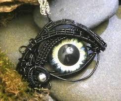 eerie eyeball jewelry eerie glass eye