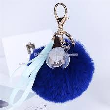 Puff Ball Decorations Nz Impressive Women'S Girl'S Fur Ball Fluffy Round Ball With Ribbon Handmade Cloth