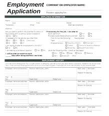 Job Application Form Template Free Download Patrishaluxe Co