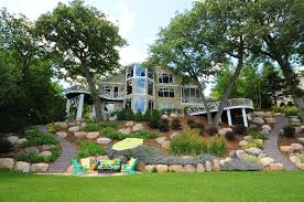 Small Picture backyardlakeideas Lake Minnetonka Hillside Landscape Garden