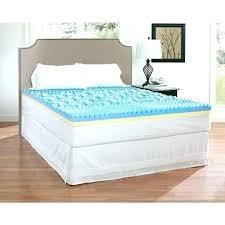 memory foam mattress topper walmart. Waterproof Bed Pads Walmart Memory Foam Mattress Topper Queen  Cover Appealing 4 M