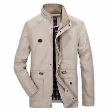 men s military style jacket