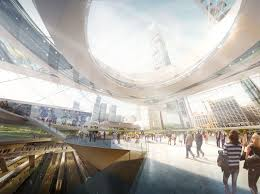 Modern Train Station Design A Green Ultra Modern Makeover For Americas Busiest Train