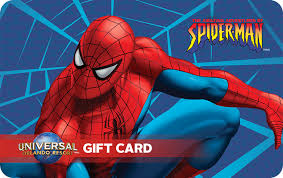 Delivered in a customized greeting card by email, mail, or printout. Universal Studios Theme Parks Ticket Selection