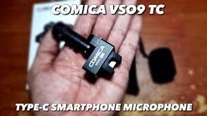 <b>Comica CVM</b>-<b>VS09</b> Usb Type C Microphone (The Review) - YouTube