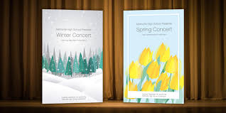 How To Create An Event Program Booklet Creating A Quick Inexpensive Concert Program Smartmusic