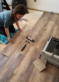 tongue and groove wood plank flooring diy install