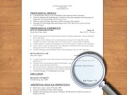 how to write a resume for a real estate job steps