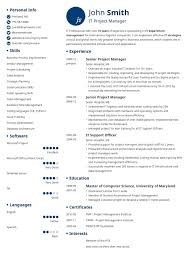 Trendy Resume Templates Sleek Resume Template Trendy Resumes Resume Templated Best Resume 10