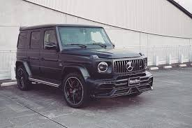 Other than customary apple carplay, there are few updates to the 2020 mercedes g wagon. 2020 Mercedes Amg G 63 And G Class Get Wald Black Bison Body Kit Autoevolution