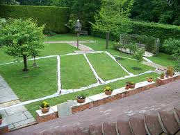 garden drainage. Lawn Drainage Wrecclesham, Surrey. Garden