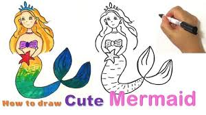 Coloring Pages Mermaid Coloring Sheets Little Mermaid Printable