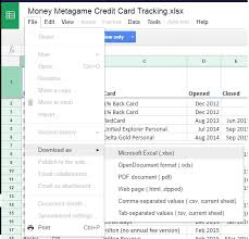 Credit Card Tracker Excel Our Credit Card Tracking Excel Sheet Plus All Of Our Data