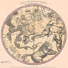 Constellation Chart Constellation Chart 1856b