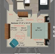 master bedroom measurements  contemporary floor plan
