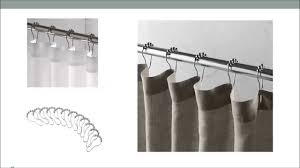 the ez glide shower curtain hooks that slide easily over the rod joints and don t come off you