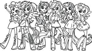 Print My Little Pony Coloring Pages Free My Little Pony Coloring