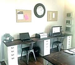 two desk home office. Home Office Desks For Two With Dual Desk