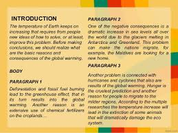 global warming essay 5