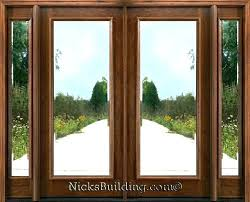 exterior double doors with glass commercial wood entry doors commercial wood entry doors glass double front