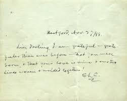 love letter mark twain